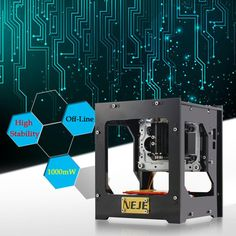NEJE 1000mW router cnc laser cutter DIY Print laser engraver High Speed USB laser cnc Engraving Machine with Protective Glasses
