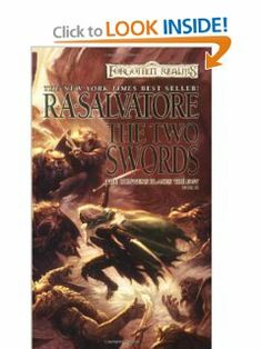 The Two Swords (Forgotten Realms: Hunters Blades Trilogy) by R. Forgotten Realms, Wizards Of The Coast, I Love Reading, Swords, Ebook Pdf, I Movie, Science Fiction, My Books, Two By Two