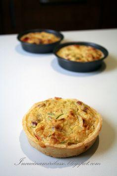 In cucina mi rilasso: Tartellette salate ai porri e pancetta