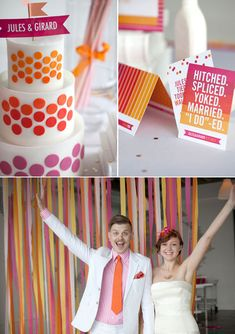 Permalink to Brit Pop inspired wedding shoot