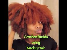 ▶ Crochet Braids with Marley Braid Hair - YouTube