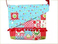 ezebee - Kindertasche Äpfel und Kirschen Kindergartentasche
