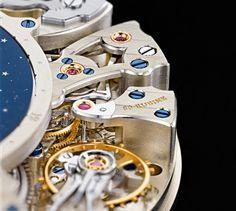 A. Lange &Söhne Richard Lange Perpetual Calendar Terraluna Watch Hands On   hands on