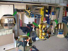 Werkzeugunterbringung 2.0 Bauanleitung zum selber bauen