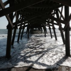 Surfside Beach SC Pier Photograph Via Mandi