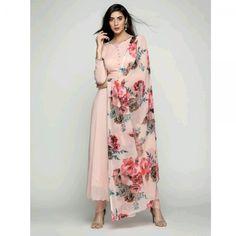 Adorable Straight plain Salwar suit with Digital printed dupatta Salwar Designs, Kurti Designs Party Wear, Kurta Designs Women, Dress Indian Style, Indian Dresses, Pakistani Outfits, Indian Outfits, Indian Clothes, Indian Attire