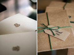 DIY Wedding Thank You Cards