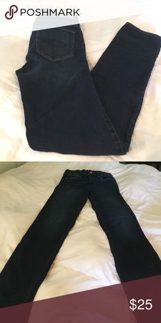 abercrombie & Fitch straight leg jeans abercrombie & Fitch straight leg jeans Size 6L waist 28 Length 33 Abercrombie & Fitch Jeans Straight Leg
