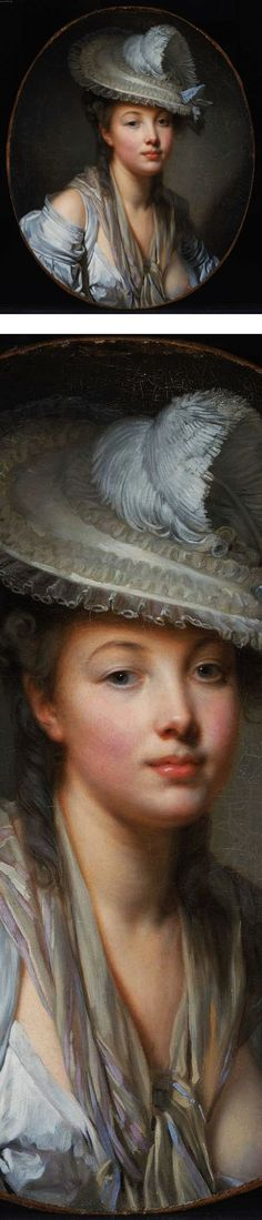 Eye Candy for Today: Greuze's The White Hat