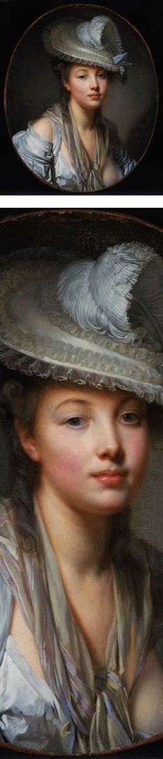 The White Hat, Jean-Baptiste Greuze