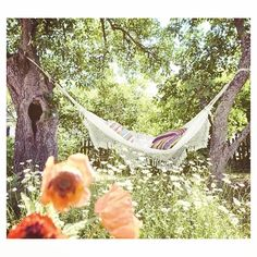 Who else can see themselves enjoying a cuppa here? - #yourtea #hammock #garden
