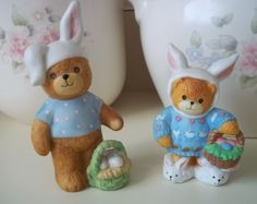 Lucy and Me Easter Teddy Bears