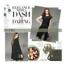 """""""VIPme.com 29/30 - dash of daring"""" by federica-m ❤ liked on Polyvore featuring Topshop, women's clothing, women, female, woman, misses, juniors and vipme"""