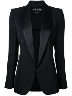 ceb112f7d1513 Tuxedo Jacket in Black by TOM FORD  womensfashionblazer
