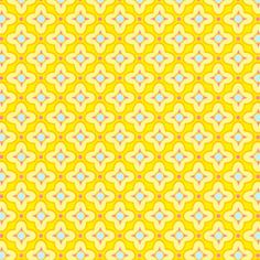 Home / Fabric Designers / Heather Bailey / Pop Garden and Bijoux / Tiled Primrose in Gold