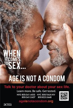 """Anna E. Fowlkes, an HIV/AIDS prevention advocate and spokesperson is one of the faces of New York City's """"Age Is Not A Condom"""" campaign created by ACRIA'."""