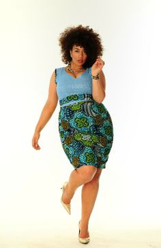 African Prints in Fashion: Prints of the Week: Dearcurves