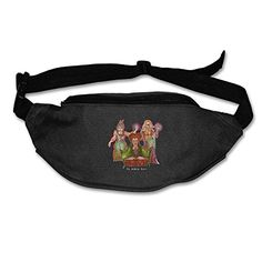 Hocus Pocus  The Sanderson Sisters Casual Fanny Pack Adjustable Black >>> Click image for more details.