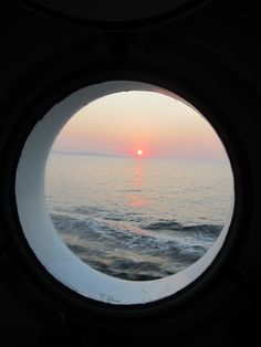 porthole sunset ~ What is Paradise? Was Life Created? Answer to these questions and many others FREE at JW.ORG the worlds best and most unique website translated in 900+ languages and here to benefit you!