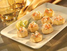 Shrimp Scampi Cups