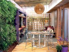 decoracion terraza funcional y moderna