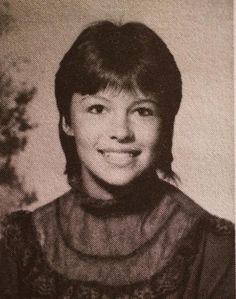 Pamela Anderson is barely recognizable in this high school yearbook photo. Find 14 shocking #celeb plastic surgery transformations here.
