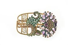 Poppy Belt Buckle | Eugene Grasset  for House of Vever (Paul and Henri) c1900.