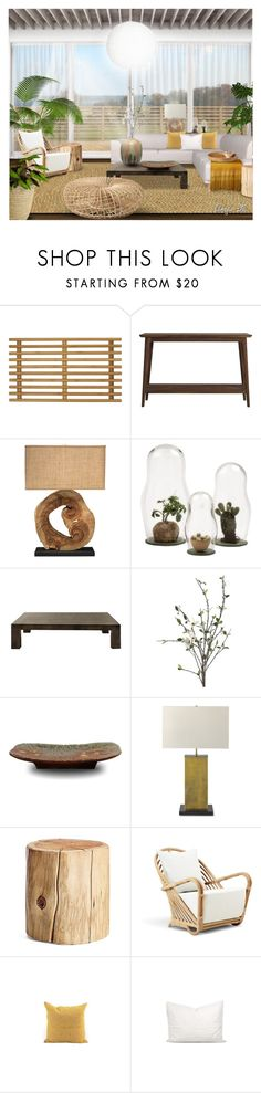 """""""Jamie"""" by angiem ❤ liked on Polyvore featuring interior, interiors, interior design, home, home decor, interior decorating, Amb Ambassadors of minimalism, Ion Design, Jamie Young and XVL"""