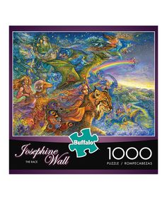 Love this The Race 1,000-Piece Puzzle by Buffalo Games on #zulily! #zulilyfinds