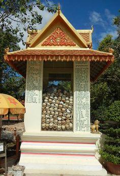 Killing Fields Memorial - Siem Reap Cambodia