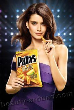 *-* in commercials Tofita, Rexona, Patos photo Beren Saat reklama