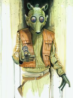 Star Wars Greedo by Brian Rood