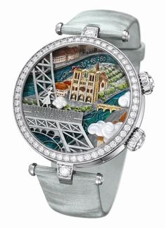 Romantic Story Depicted on a Marvelous Pair of Watches – Van Cleef & Arpels Poetic Wish Timepieces Presented at SIHH 2012 Amazing Watches, Beautiful Watches, Cool Watches, Watches For Men, Unique Watches, Ladies Watches, Fine Watches, Patek Philippe, Van Cleef Arpels