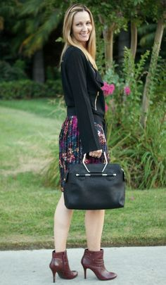 Fall Floral Skirt from @Thredup