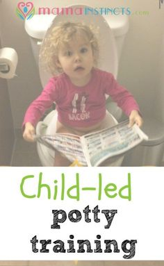 Learning to use the potty doesn't have to be hard if you follow your child cues. Find out why and how we are doing child-led potty training.