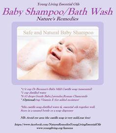 Young Living Essential Oils: Baby Shampoo Bath Wash