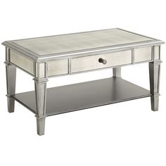 Hayworth Coffee Table - Silver - Home Decor Furniture Ideas