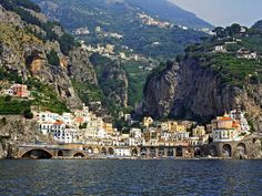 A beautiful dramatic coastal town and any excuse to return to Italy is fine with me.