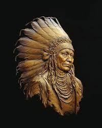 Bilderesultat for sand sculpture native american
