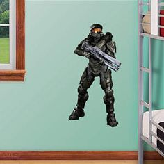 Master Chief: Halo 4   Fathead Jr. Fathead Wall Decal Part 43