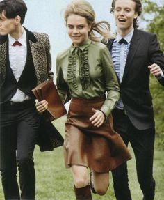 Cara Delevingne for Vogue July 2014