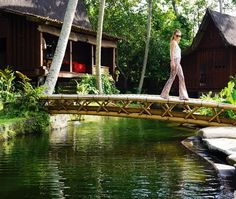 My Balinese paradise with the most magical view and nooks to hide away and be one with nature @bambuindah  #Ubud #bali #bambuindah #sustainable #design #boho #bohemian #gypset #hippy #bamboo #create #nature #vacation #adventure #instalove #holiday #travel #inspiration #love