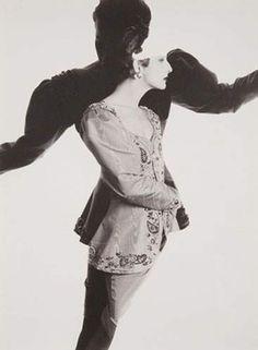1985 - Betty Largo + Ungaro, photographed by David Seidner.