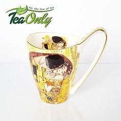 #Vanessa mug gustav #klimt the kiss - #500ml - free p&p - teaonly,  View more on the LINK: http://www.zeppy.io/product/gb/2/142078471502/