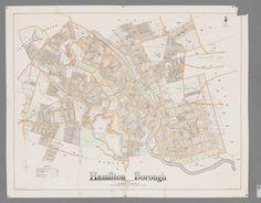 Map of Hamilton Borough 1927