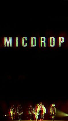 BTS Mic Drop Wallpaper #BTS #MICDROP #WALLPAPER Bangtan Sonyeondan