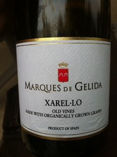 Marques De Gelida Xarel-Lo Lovely bright and crisp white wine from Spain.  Xarel-Lo is a grape used in making Sparkling Cava.  It shows great fruit with good acidity making it a wonderful wine to drink on a hot summer day! Imported by Jorge Ordonez Selections.  Read more about it on OfftheBeatenvine.net