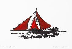 Irish Landscape, Sailing Ships, Sculpture Art, Screen Printing, Racing, Artist, Prints, Screen Printing Press, Running