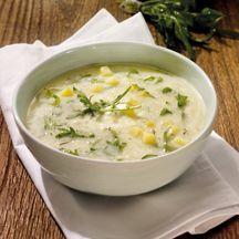 Kartoffel-Rucola-Suppe
