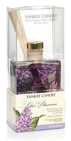 Yankee Candle 1.2 Ounce Mini Reed Diffuser Lilac Blossoms -- Check out this great product. (This is an affiliate link and I receive a commission for the sales)